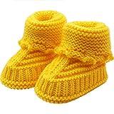 Bebé ReciéN Nacido Chico Chica Zapatos de Ganchillo,logobeing...