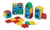 Baukasten 48 Bausteine Bauklötze Klein Spielzeug für Kinder ab 2 Jahre Set Konstruktionsspielzeug Konstruktion