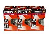 3 x Philips Reflektor Glühbirne Spotone R50 25W 25 Watt