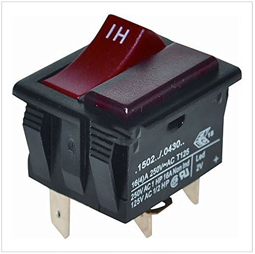 UTP Henry Red Hi/Low Switch (5045175291025) für Numatic Henry Hoover Staubsauger -
