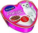 Vitakraft Poésie Katzenfutter, Nassfutter, Rind&Karotte in Sauce, 15 x 85g