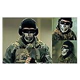 #9: Saksham Online -Camping Accessory 1pc Skull Navy Seal SWAT Skeleton FaceMask Motorcycle Bike Respirator