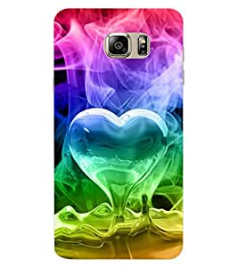 ColourCraft Love Design Back Case Cover for SAMSUNG GALAXY NOTE 7 DUOS