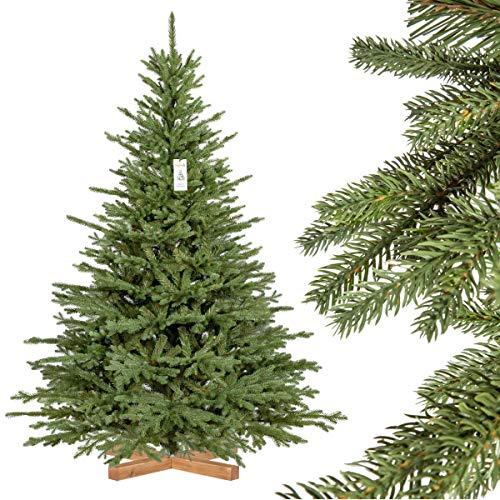 FairyTrees Weihnachtsbaum künstlich BAYERISCHE Tanne Premium, Material