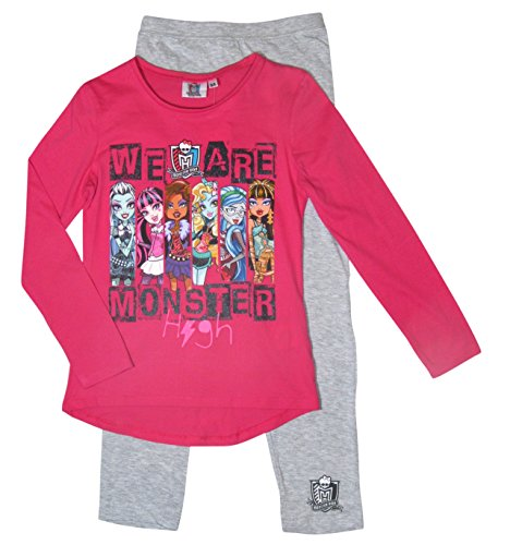Monster High Pyjama Kollektion 2017 Schlafanzug 122 128 -