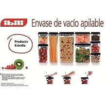Ibili 788605 Contenant alimentaire sous vide empilable (500 ml)