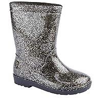 Kids Girls Childrens Wellington Boots Wellies Wellys Rain Snow Warm Autumn Winter Shoes Size UK Infant Child 6 7 8 9 10 11 12 13 1 2 3 4 5