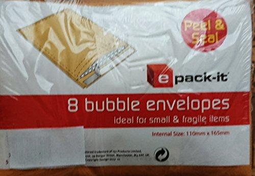 16Peal & Seal Sobres Burbuja/2paquetes de 8