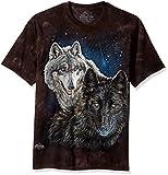 The Mountain Herren T-Shirt Star Wolves - Schwarz - XX-Large