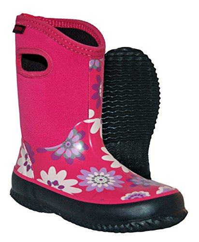 Itasca Kids Youth Bayou Rubber/Neoprene Waterproof Rain Boot
