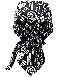Biker Bandana Cap - Totenkopf Typographie