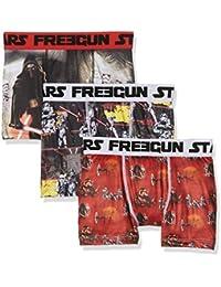 Star Wars Jungen Boxershorts Starwars Freegun Boxer Pack X3, 3