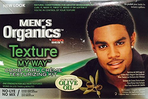 Africas Best Organic Texture My Way Kit For Men by Africa's Best