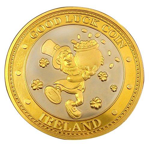 Preisvergleich Produktbild Sammler-Edition Glücksmünze mit Kobold und Goldtopf, Marke