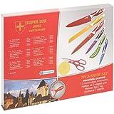 Super Lux 6 Pcs Swiss Knife Set Non Stick Coating