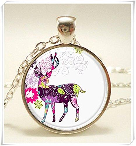 reindeer-christmas-necklace-xmas-hostess-gift