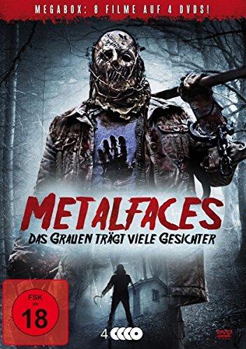 Metalfaces - Das Grauen trägt viele Gesichter - Uncut [4 DVDs]