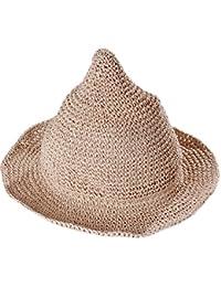 Leisial Sombrero Gorra Paja de la playa Gorro de Viaje Protector Solar Sombrero de Sol Respirable