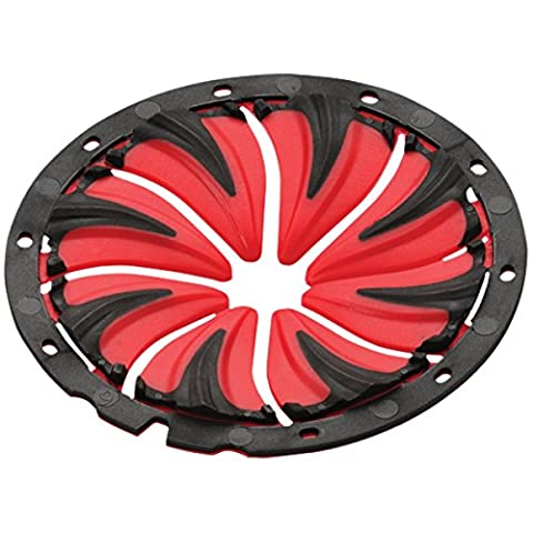 Dye Quick Feed Rotor - Black/Red