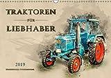 Traktoren für Liebhaber (Wandkalender 2019 DIN A3 quer): Nostalgische Traktoren - geliebte Kraftpakete, die viele in ihren Bann ziehen (Monatskalender, 14 Seiten ) (CALVENDO Technologie)