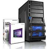 Gaming / Multimedia COMPUTER mit 3 Jahren Garantie! | Quad-Core! AMD A8-7600 4 x 3800 MHz | 8192MB DDR3 | 1000GB S-ATA II HDD | AMD Radeon R7 720 - Mhz 4096 MB DVI/VGA mit DirectX11 Technology | USB3 | FM2+ Mainboard | 22x Dual Layer DVD-Brenner | All-In One Card-Reader | 7 USB-Anschlüsse | Windows10 Professional 64 #4953
