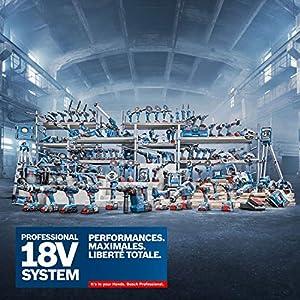 Bosch Professional GLI 18V-1900 C – Lámpara a batería (hasta 100 minutos de duración de iluminación por Ah, en cartón)