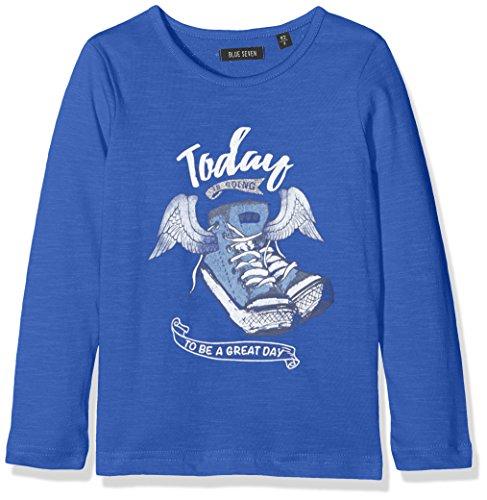 blue seven Mädchen Longsleeve Aus Flammengarn UND Glitzer, Camiseta Para Niños blue seven