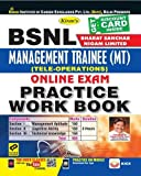 KIRAN'S BSNL (BHARAT SANCHAR NIGAM LIMITED) MANAGEMENT TRAINEE (MT)(TELE-OPERATIONS) ONLINE EXAM PRACTICE WORK BOOK - ENGLISH