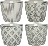 IB Laursen - Tassen, Becher - Casablanca - Farbe: Grau - Porzellan - 4er Set