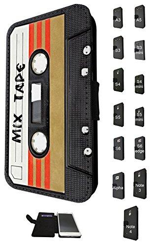 Aztec Music Box (1082 - Cool fun mix tape casette player retro music dance hip hop rnb boom box Design Samsung Galaxy S3 i9300 Fashion Trend TPU Leder Brieftasche Hülle Flip Cover Book Wallet Credit Card Kartenhalter Case)