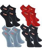 8 Paar s.Oliver unisex Damen und Herren Sneaker Socken