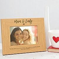 Personalisierbarer Fotorahmen für Mama – Geschenk für Mütter – Größen: 15x10cm, 18x13cm und 20x15cm - Mum Photo Frame Personalised Gifts For Mum
