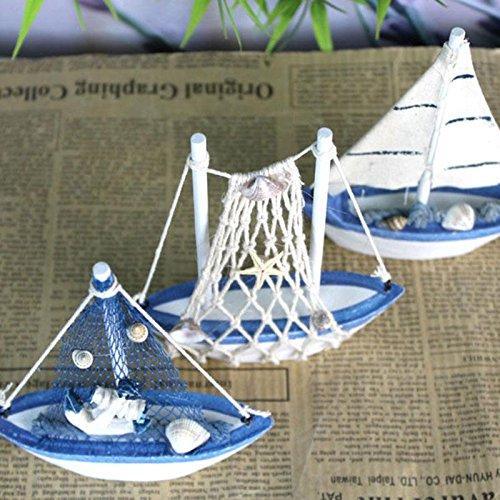 f Modellboot Standmodell Maritime Deko aus Holz (Schiff Dekorationen)