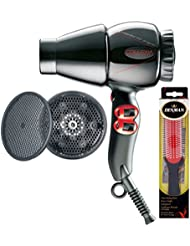 Collexia Professional Ultra Compact Hair Dryer with Diffuser Plus Free Brush