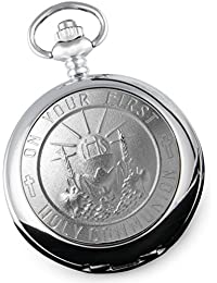Boy's First Holy Communion Gift Pocket Watch With Gift Box, 1st Communion Gifts