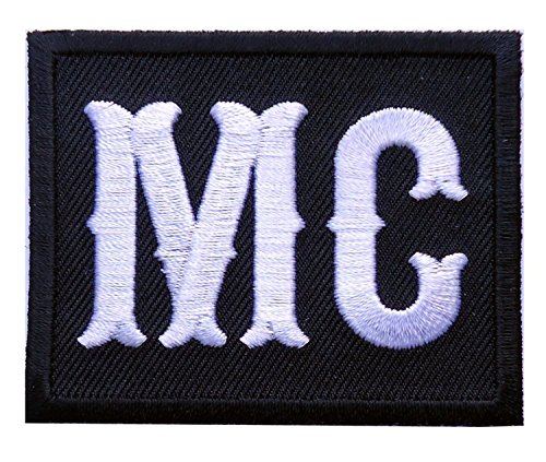 Titan One Europe - MC Motorcycle Club Embroidered Biker Patch Iron On Motorrad Aufnäher Aufbügler