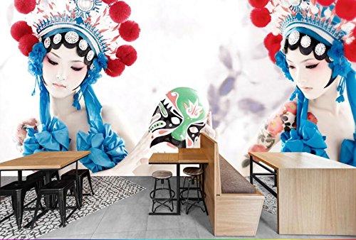 Yosot Benutzerdefinierte Tapete Drama Schönheit Kostüm Hotel Restaurant Hintergrund Wand 3D Tapete Wandbild-140Cmx100Cm (Kostüm Dramen Besten)