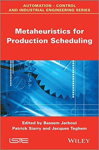 [Metaheuristics for Production Scheduling] (By: Bassem Jarboui) [published: June, 2013]