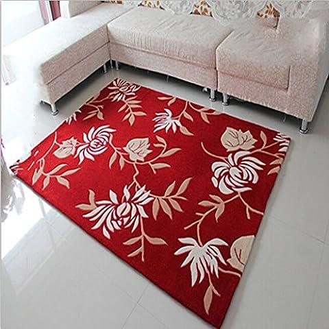 Modelo de la alfombra hecha a mano tradicional de cifrado de gran engrosamiento seco superficie de la alfombra de limpieza moderno sofá de la sala de estar casera dormitorio alfombra alfombra alfombra de la sala 120 *