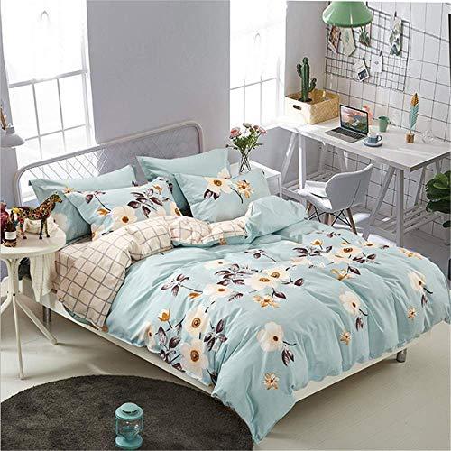 SHJIA Mädchen Junge Kind Bettbezug Set Bettbezug Erwachsene Kind Und Kissenbezüge Tröster Bettwäsche Set A 180x220 cm