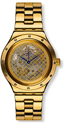 Orologio Swatch Irony Automatic YAG100G Automatico Acciaio Quandrante Trasparente Cinturino Acciaio