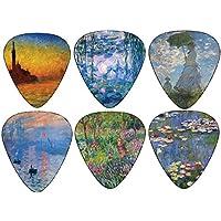 Claude Monet Guitar Picks Gifts Arte - Ninfee Alba Crepuscolo