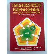 Organización Empresarial, Económica y administrativa. Vol. II. Organización de la producción