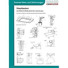 Waschbecken, über 3400 Seiten (DIN A4) patente Ideen und Zeichnungen