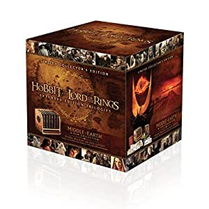 Middle Earth Collection Extended Edition - Collector's Edition  (18 Blu-Ray + 12 DVD)