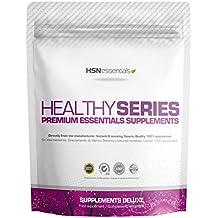 HSN Essentials - Colágeno Marino Hidrolizado + Magnesio - Con Ácido Hialurónico y Vitamina C - Huesos y Articulaciones Sanas - En Polvo - Sabor Frutos Rojos - 1000 g
