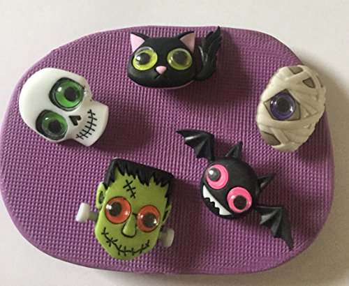 (Halloween Cute Monster Moule en silicone.)