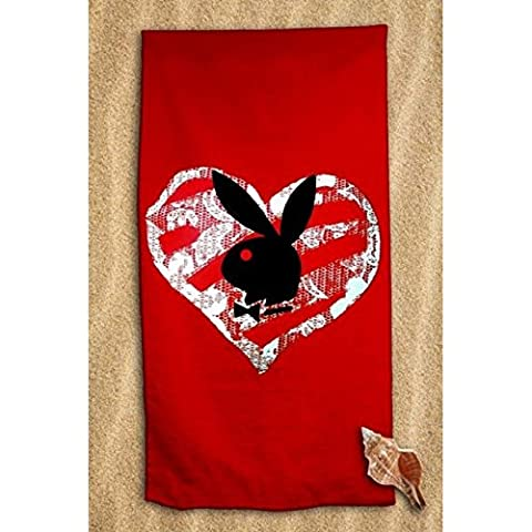 Beach Towel 70 x 140 cm PLAY BOY Red