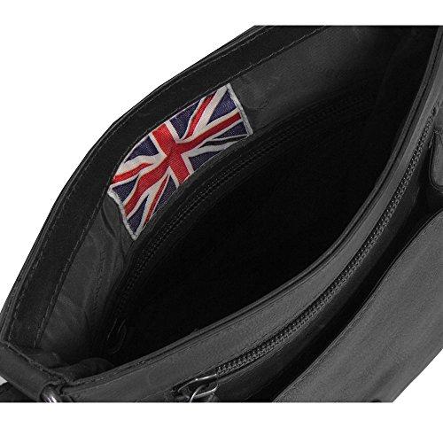 The Chesterfield Brand Victoria Borsa a tracolla pelle 19 cm Black