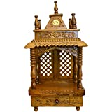 Santarms Handmade Wooden Puja Temple